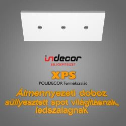 Mennyezeti XPS dobozolás LED világításnak (MD-1-43) ( 43x100cm)