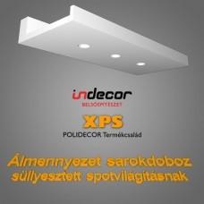 Sarokdoboz LED SPOT világításnak (SD-1-30) (30x100 cm)