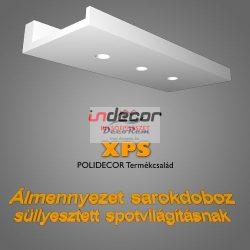 Sarokdoboz LED-spot világításnak (43x100 cm)(SD-1-43)