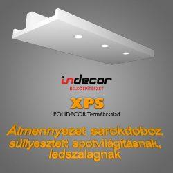 Sarokdoboz LED Spot-nak és LED szalagnak (SD-2-43)(43x100cm)