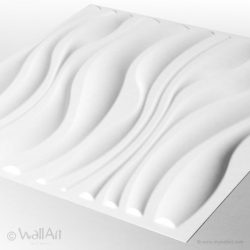 WAVES 3D WallArt falpanel