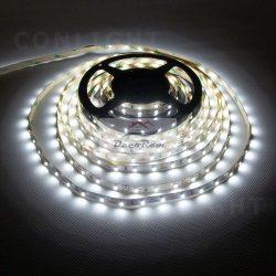 Hideg fehér beltéri IP20 60LED/m SMD 3528 LED szalag