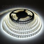 Hideg fehér beltéri IP20 120LED/m SMD 3528 LED szalag