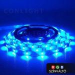 RGB LED szalag, Színváltós beltéri IP20 30LED/m SMD 5050
