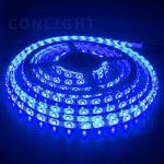 Kék kültéri IP65 60LED/m SMD 3528 LED szalag