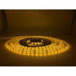 Sárga kültéri IP65 60LED/m SMD 3528 LED szalag