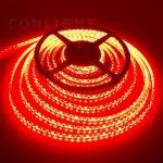 Piros kültéri  IP65 3528 120LED/m LED szalag