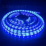 Kék kültéri IP65 3528  120LED/m LED szalag