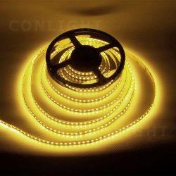 Meleg fehér IP20 120LED/m SMD2833 LED szalag  EXTRA fényerő!