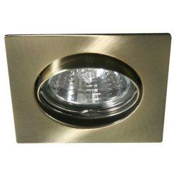 Beépíthető, billenthető  spot lámpatest NAVI Patinált réz