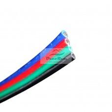Színes 4 eres vezeték RGB LED szalaghoz