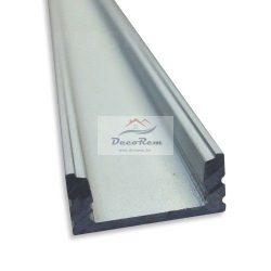 ALU U Profil sín, LED szalaghoz ( 2 méter )