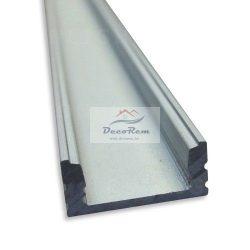 ALU U Profil sín, LED szalaghoz ( 1 méter )
