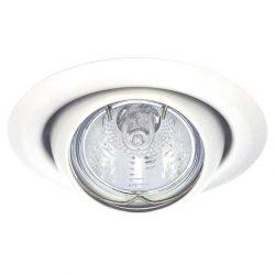 Álmennyezeti billenthető, békaszemes spot lámpatest fehér (CT-2117-W )