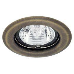 Beépíthető spot lámpatest, matt réz (Argus-CT-2114-BR/M)