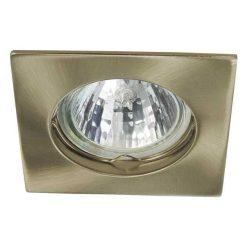 NAVI beépíthető spot lámpatest réz (négyzet alakú) (CTX-DS10-AB)