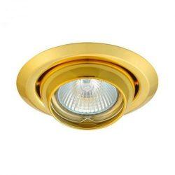 Álmennyezeti billenthető, békaszemes spot lámpatest arany (Argus-2117/G)