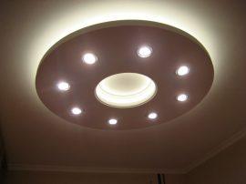 Kör süllyesztett XPS  szett LED világítással (150cm) (K-150-F)