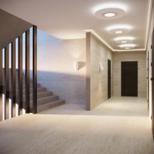 Kör 70 cm-es álmennyezetsziget Led szalaggal 24W-os LED panellel (K-70-LP-24)