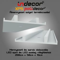 Mennyezeti és sarok dobozolás 58cm ( MSD-2-58)