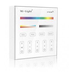 Fix, fali távirányító ( RGB. RGBW, CCT)4 zónás
