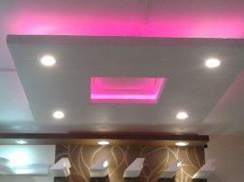 NÉGYZET (100x100cm) Süllyesztett szett,RGB  LED világítással (RGB! )(N-100-RGB)