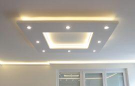 Téglalap süllyesztett XPS  szett (120x150 cm) LED világítással  (T-150x120-F)