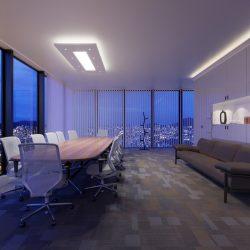 TÉGLALAP (180x90cm) Süllyesztett szett, LED panel világítással (48W)(T-180x90-LP-F)