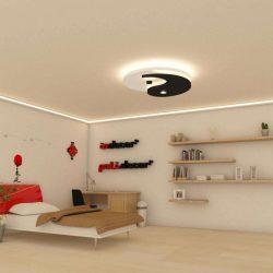 YIN-YANG álmennyezet szett LED világítással (100cm) (YIN-YANG-F)